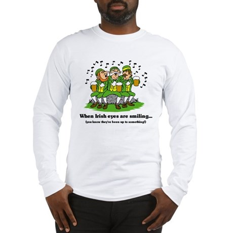 Irish eyes are smiling Long Sleeve T-Shirt