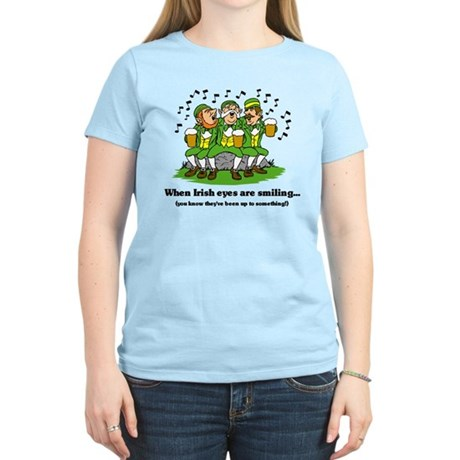 Irish eyes are smiling Women's Light T-Shirt