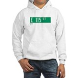 115th Street in NY Hoodie Sweatshirt