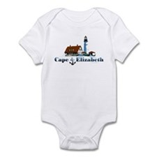Cape Elizabeth Infant Bodysuit