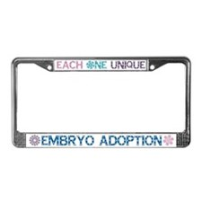Embryo Adoption License Plate Holder