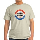 Vote Mondale '84 Ash Grey T-Shirt