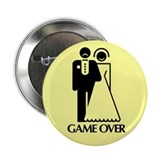 Game Over 2.25&quot; Button (100 pack)