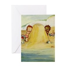 WHY CAN'T WE BE FRIENDS? Greeting Card