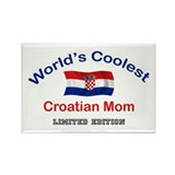 Coolest Croatian Mom Rectangle Magnet
