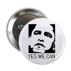 "Yes we can / Obama 2.25"" Button (100 pack)"