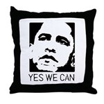 Yes we can / Obama Throw Pillow