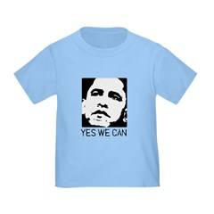 Yes we can / Obama Toddler T-Shirt