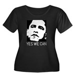 Yes we can / Obama Women's Plus Size Scoop Neck Da