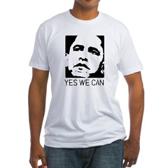 Yes we can / Obama Fitted T-Shirt