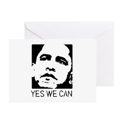 Yes we can / Obama Greeting Cards (Pk of 20)