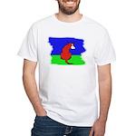 CARTOON DOG White T-Shirt