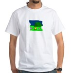 CAMPING ROCKS White T-Shirt