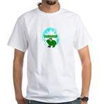 summer frog look White T-Shirt