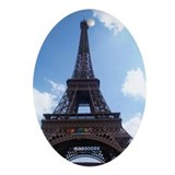 Eiffel Tower Keepsake (Oval)