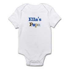 Ella's Papa Infant Bodysuit