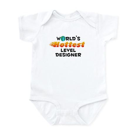 World's Hottest Level.. (C) Infant Bodysuit