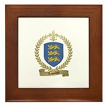 LAPOINTE Family Crest Framed Tile