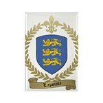 LAPOINTE Family Crest Rectangle Magnet (100 pack)