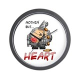 Nothin' But... Heart Wall Clock