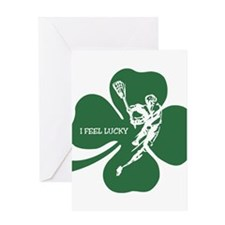 LuckyLAXPlayer Greeting Cards