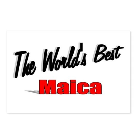 """ The World's Best Maica"" Postcards (Package of 8)"