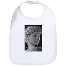 Michelangelo David Sculpture Bib