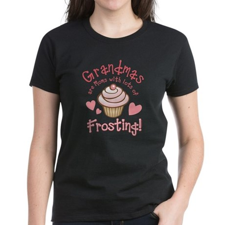 Grandmas Frosting Women's Dark T-Shirt