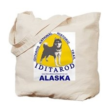 Cute Iditarod Tote Bag