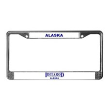 Unique Iditarod License Plate Frame