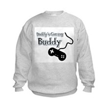 Daddy's Gaming Buddy Sweatshirt