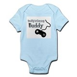 Daddy's Gaming Buddy Infant Bodysuit