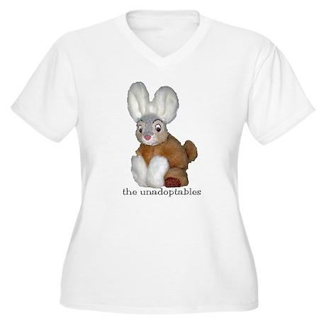 Unadoptables 9 Women's Plus Size V-Neck T-Shirt