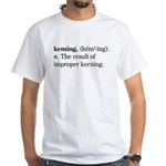 Keming White T-Shirt