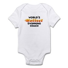 World's Hottest Swimm.. (B) Infant Bodysuit