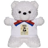 Wanted Al Capone Teddy Bear