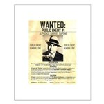 Wanted Al Capone Small Poster