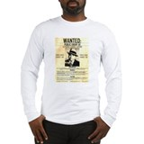 Wanted Al Capone Long Sleeve T-Shirt