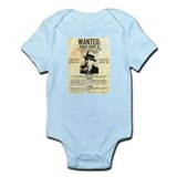 Wanted Al Capone Infant Bodysuit