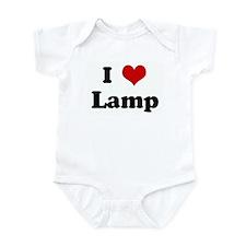 I Love Lamp Infant Bodysuit