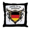 Proud to be German Throw Pillow