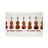 Cute Music Rectangle Magnet (10 pack)