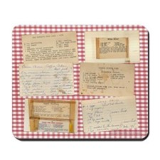 Recipe Medley Mousepad