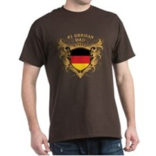 Number One German Dad T-Shirt
