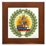 Masonic Teachers Framed Tile