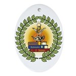 Masonic Teachers Oval Ornament