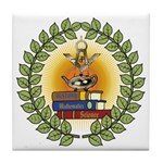 Masonic Teachers Tile Coaster