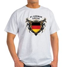 Number One German Uncle T-Shirt