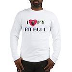 PIT BULL'S ROCK Long Sleeve T-Shirt