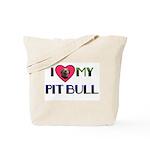 PIT BULL'S ROCK Tote Bag